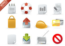 Web Icons - Novica Series #7 Stock Photos