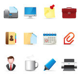 Web Icons - Office Royalty Free Stock Photo
