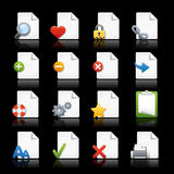 Web Icons // Pages Royalty Free Stock Photo