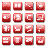 Web icons. Part four Stock Image