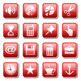 Web icons. Part three Royalty Free Stock Photo