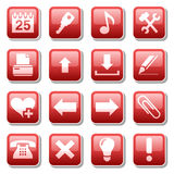 Web icons. Part two Stock Images