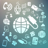Web icons Retina Vector Royalty Free Stock Images