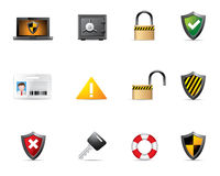 Web Icons - Security Royalty Free Stock Images