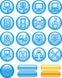 Web Icons Set – Hardware (Vector) Royalty Free Stock Photography