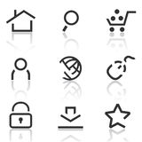 Web icons set 1 Stock Images