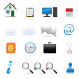 Web icons set. Vector icons set for web design Stock Image