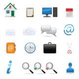 Web icons set. Vector icons set for web design royalty free illustration