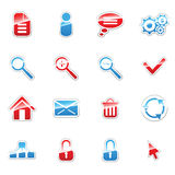 Web icons set. Vector label icon set for web design (set2 Stock Photo