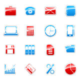 Web icons set. Vector label icon set for web design (set 3 Royalty Free Stock Photo