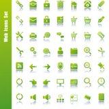 Web icons set. Illustration Stock Images