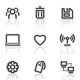 Web icons set 2 Stock Photography