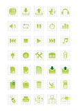Web icons set 2. Set 2 of web icons. Vector illustration. Set 1 of web icons at the same style look in my gallery Stock Image