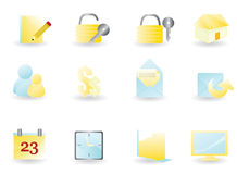 Web icons set 3 Stock Photos