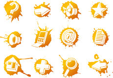 Free Web Icons Set Stock Image - 9195081