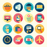 Web icons set Stock Image