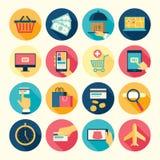 Web icons set Stock Image