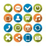 Web Icons Set. Editable EPS and Render in JPG format Royalty Free Stock Photo