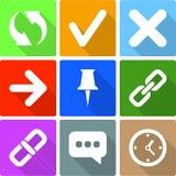 Web Icons Set 2 Royalty Free Stock Image