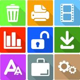 Web Icons Set 4 Royalty Free Stock Image