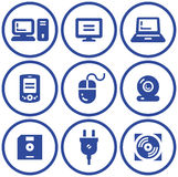 Web Icons Set – Hardware (Vector) Stock Image