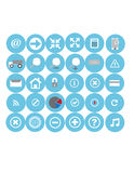 Web Icons Set. Illustration of  Web Icons Set design Stock Image