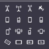 Web icons set Royalty Free Stock Photography