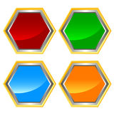 Web icons set. Rhombic four icons on a white background Stock Photo