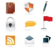 Web Icons Set Vector Stock Image