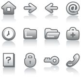 Web icons set (Vector) Stock Photo
