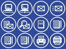 Web icons set (Vector) Stock Photo