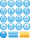 Web Icons Set (Vector) Royalty Free Stock Image