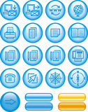 Web Icons Set (Vector) Stock Photos
