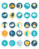 Web icons set. Vector illustration of a web icons set royalty free illustration