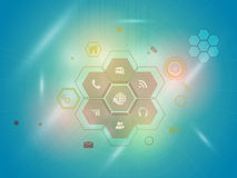 Web icons for Technology concept. Stock Images