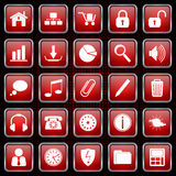 Web icons vector set Royalty Free Stock Photography