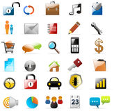 Web icons vectors Stock Photo