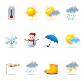 Web Icons - Weather Royalty Free Stock Images