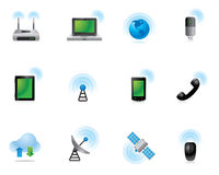 Web Icons - Wireless World Stock Photography