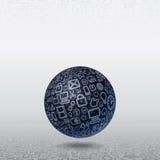 Web Icons World Royalty Free Stock Photo