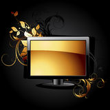 Web-Ikone LCD-Panel lizenzfreie abbildung
