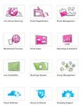Web-Ikone Set Lizenzfreies Stockfoto