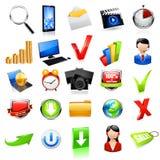 Web-Ikone Set Vektor Lizenzfreies Stockfoto