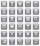 Web-Ikonen. Stock Abbildung
