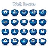 Web-Ikonen lizenzfreie abbildung