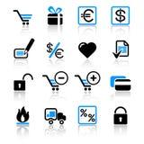 Web-Ikonen Lizenzfreie Stockfotos