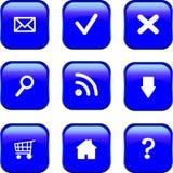 Web-Ikonen-Set Stockbilder