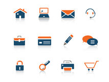 Web-Ikonenserie Lizenzfreie Stockfotografie