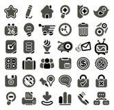 Web-Ikonenset Lizenzfreies Stockbild