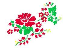 web Illustration de vecteur des roses rouges d'isolement sur le blanc illustration de vecteur